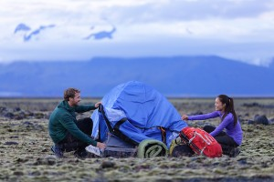 2 people camping tent