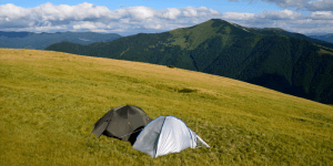 Choosing a location to pitch your tent