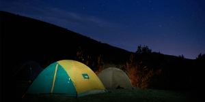 Tips for a good-night sleep in a tent