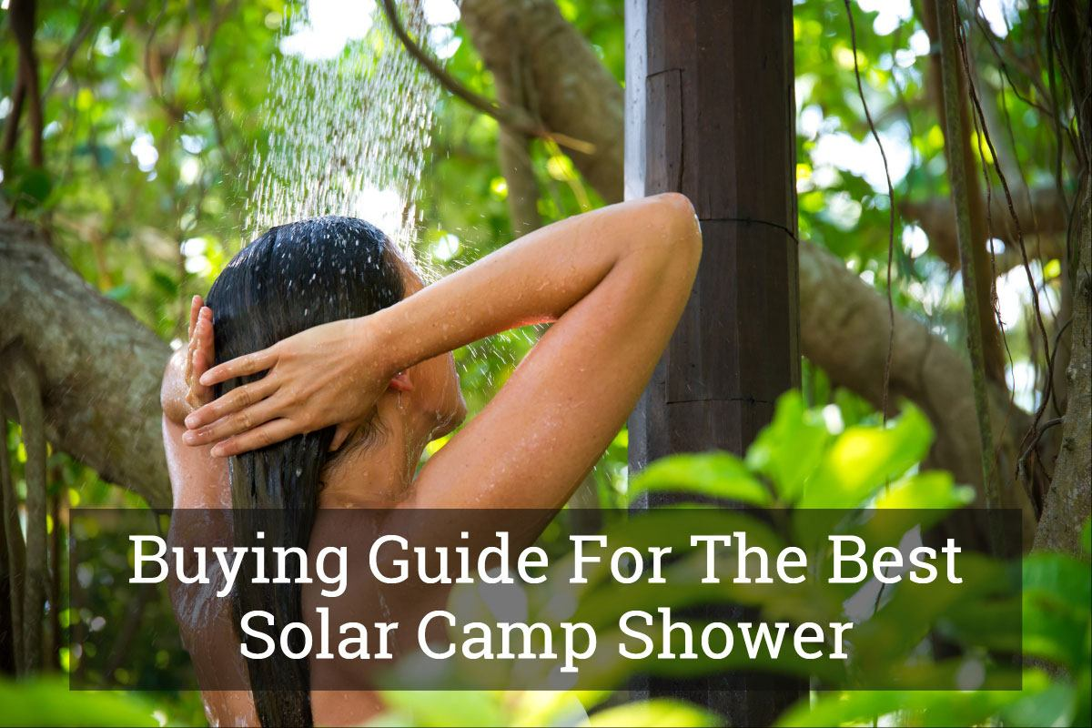 Best Solar Camp Shower
