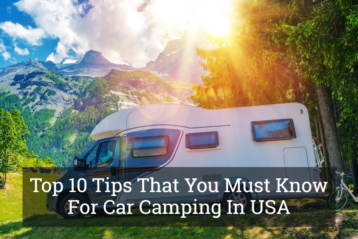 Car Camping In USA