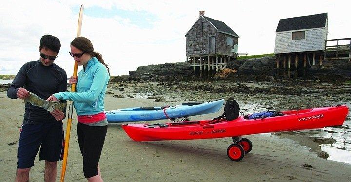 kayak cart benefits