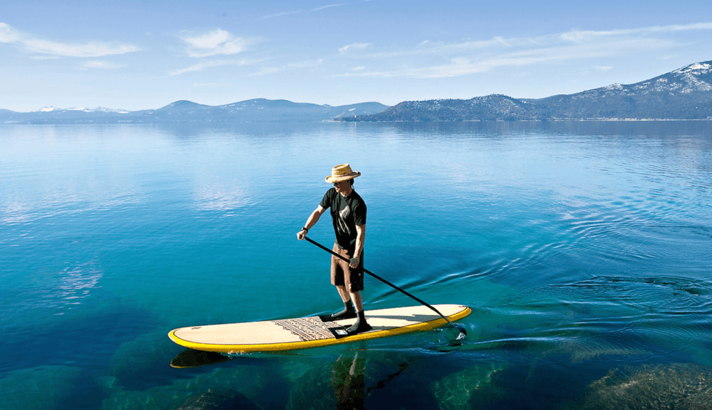 choosing your first paddle board