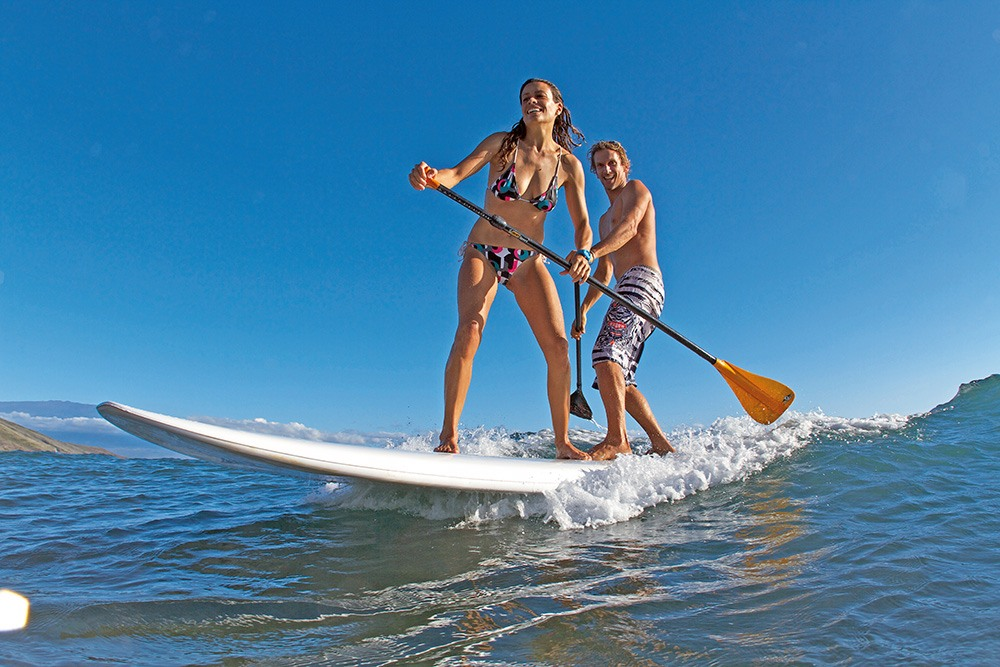how to use a paddle board