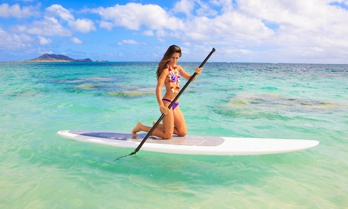 new to paddle boarding