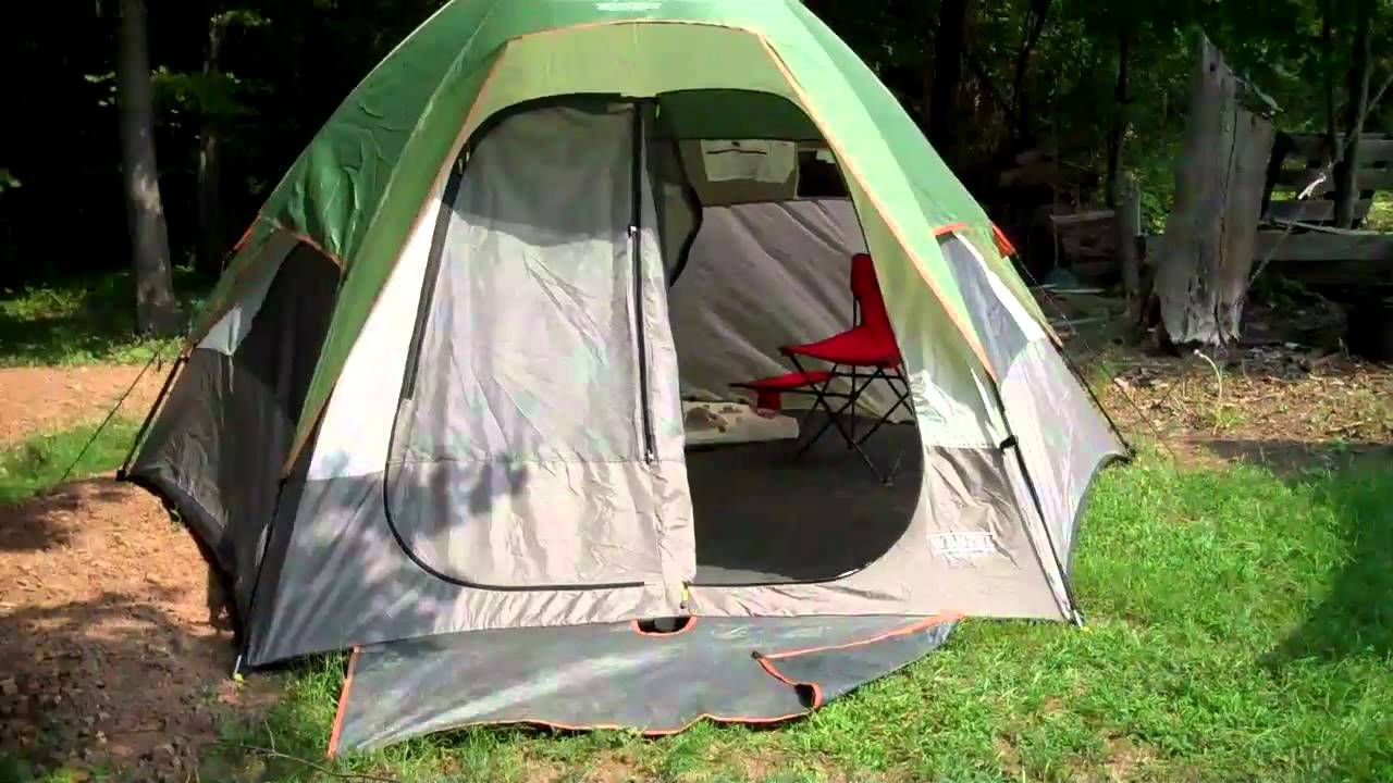 5-Person Tents - ​Wenzel Pine Ridge 5-Person
