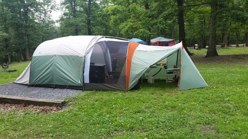 Rei Kingdom 8 Person Tent Impression