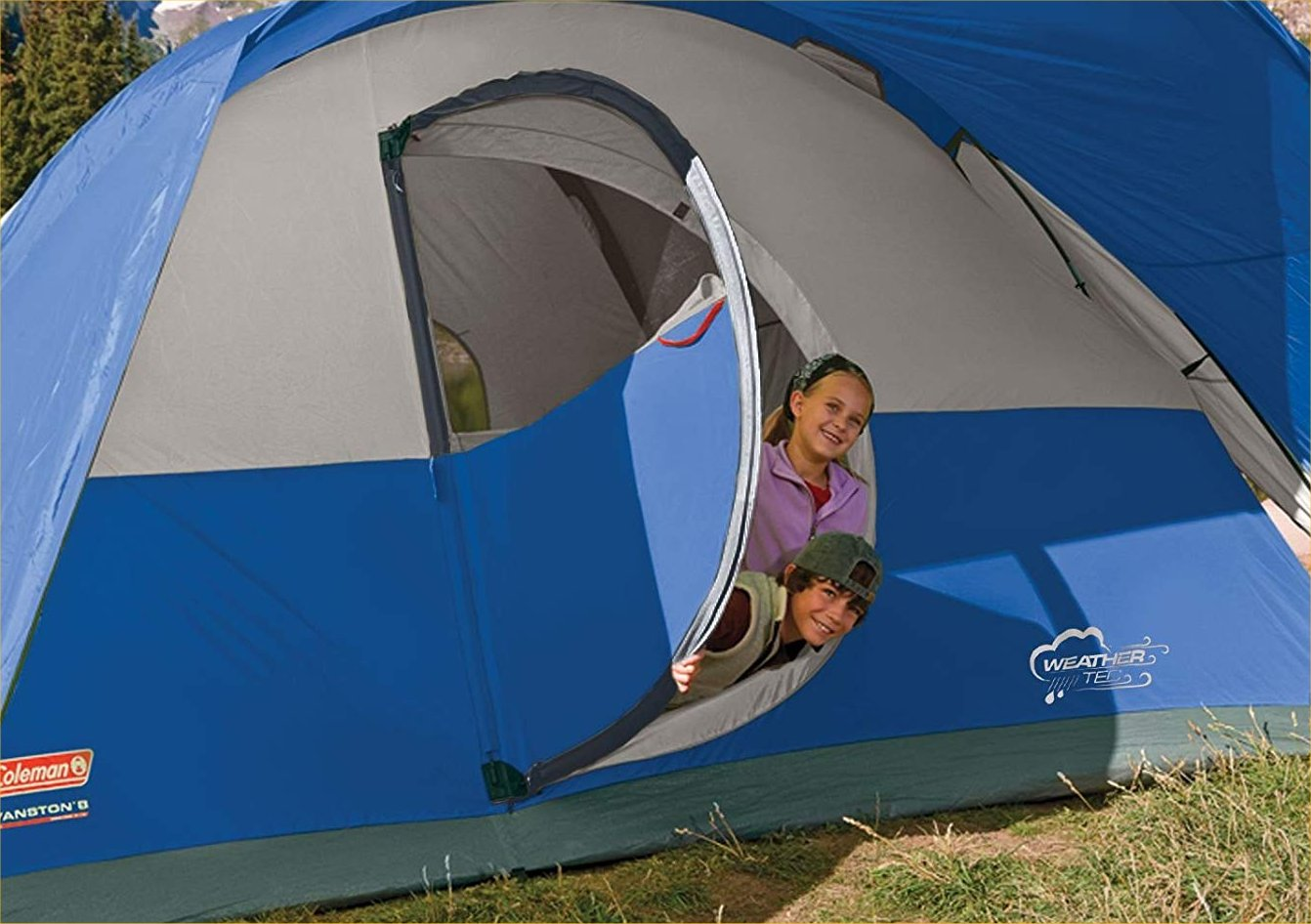 coleman montana 8-person tent review -- roomy enough for your kids and your gear