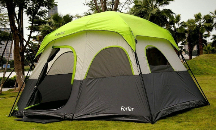 5-Person Tents - forfar family camping tent
