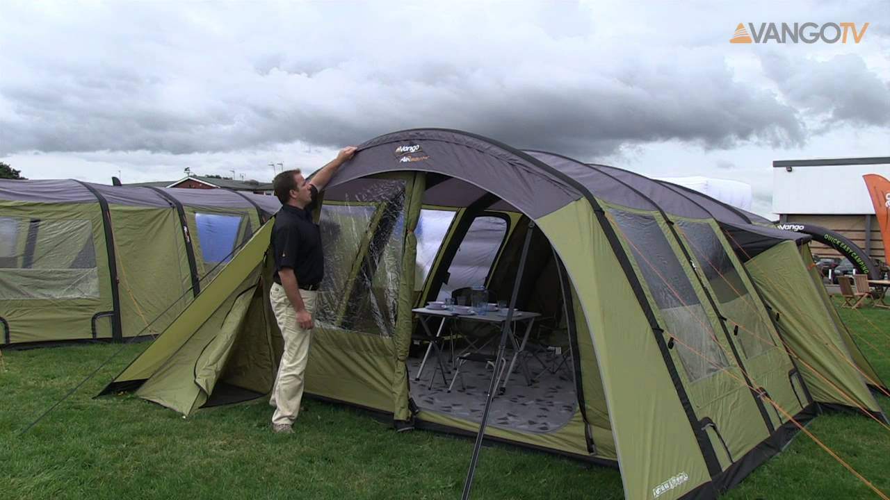 5-Person Tents - Vango Capri 500XL