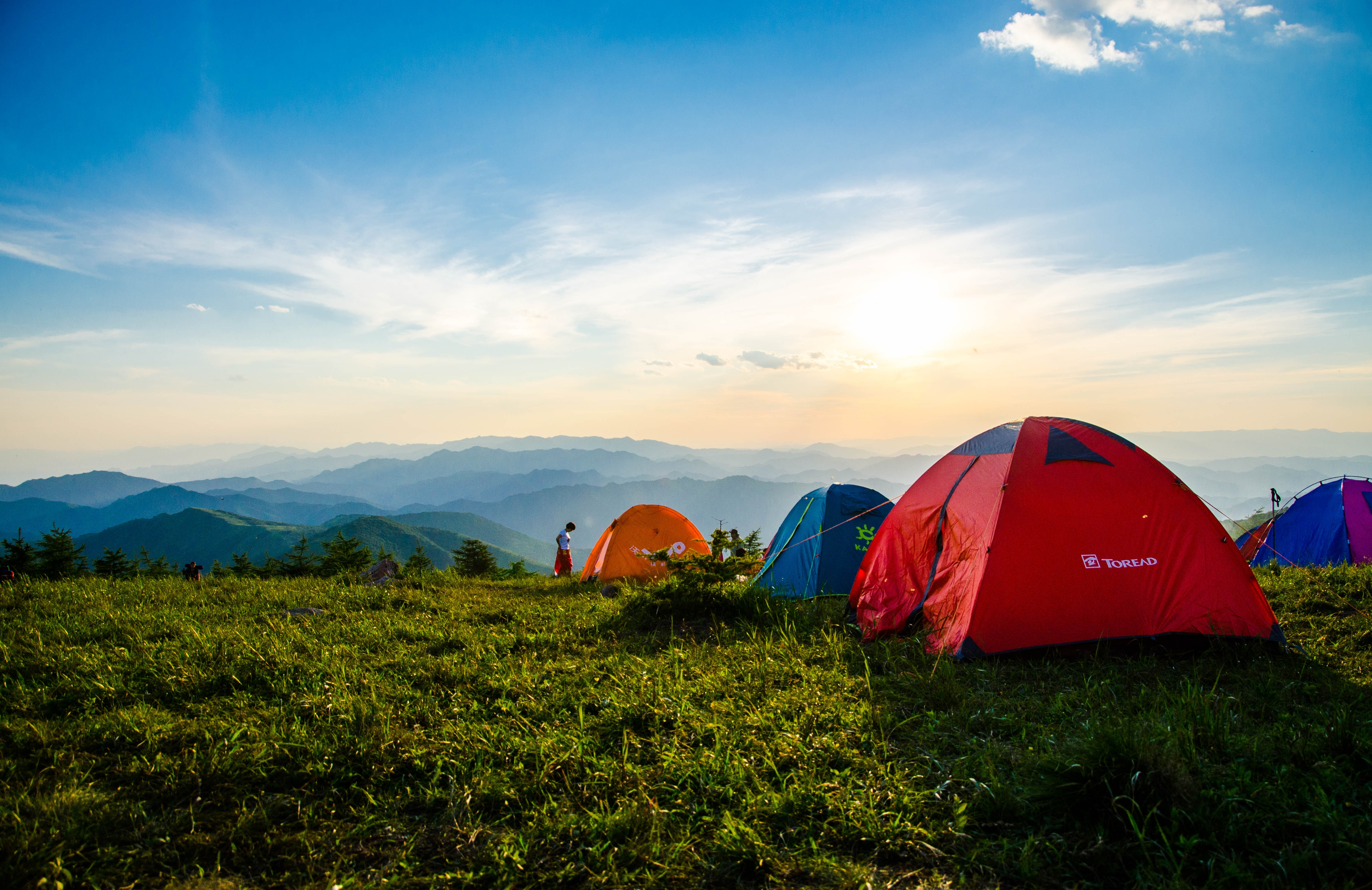Cheap Tents on the Mountain