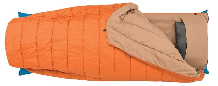 Big Agnes Buffalo Park 40 backpacking sleeping bag