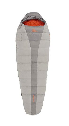 Kelty Cosmic 40 Deg 600 DriDown Long RH backpacking sleeping bag