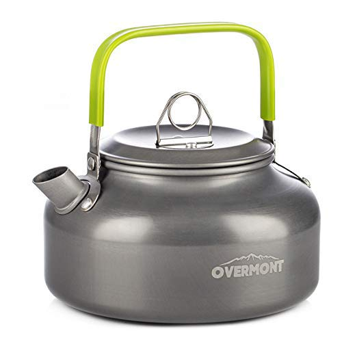 Overmont Camping Kettle Camp camping coffee maker