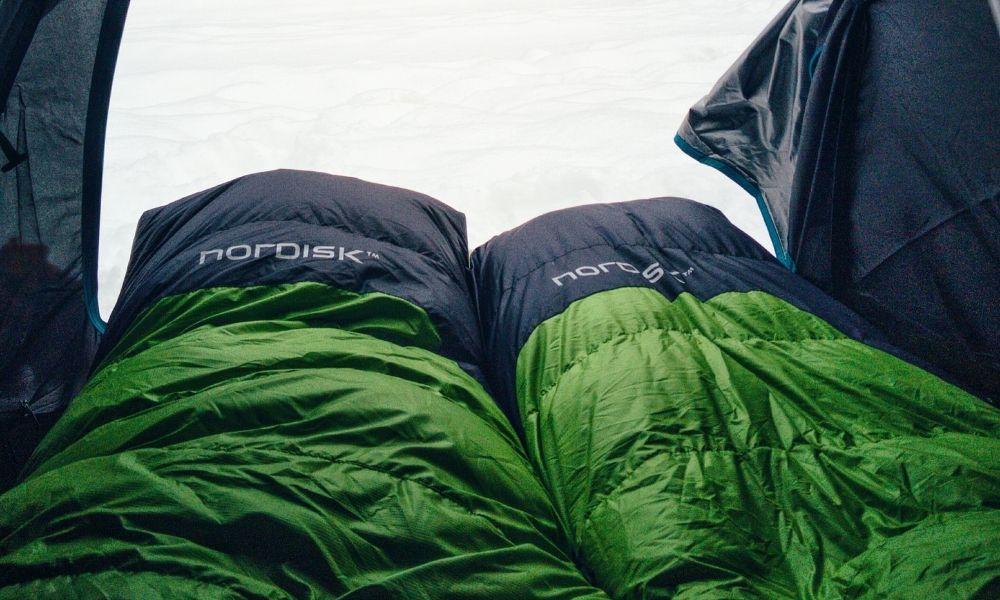 green sleeping bag backpacking sleeping bag